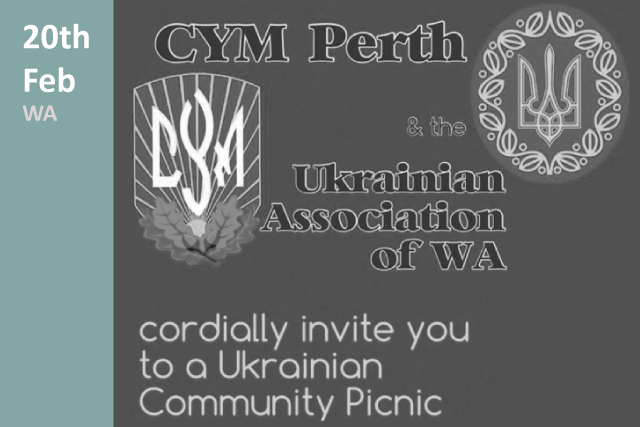 CYM and Ukrainian Association of WA Picnic