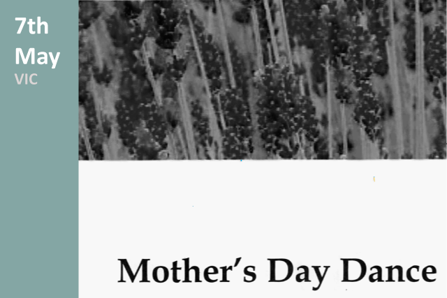 Mother's Day Dance Advertisement