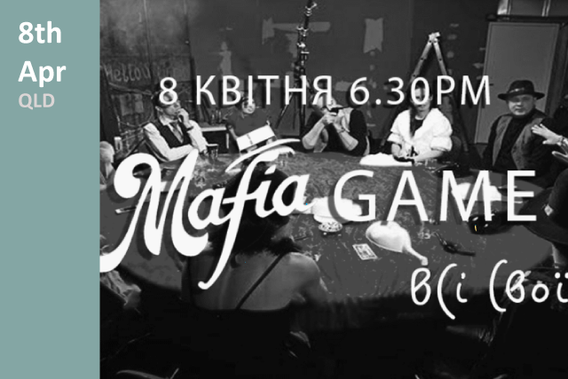 Mafia Game Advertisement