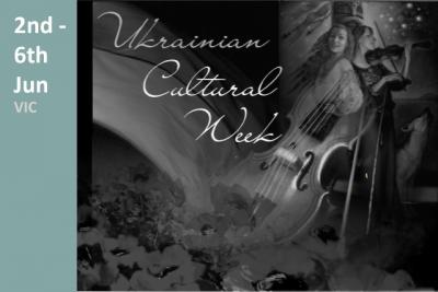 Ukrainian Cultural Week Advertisement