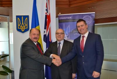 Signing of a Memorandum of Understanding between the Embassy of Ukraine in Australia and Dnister