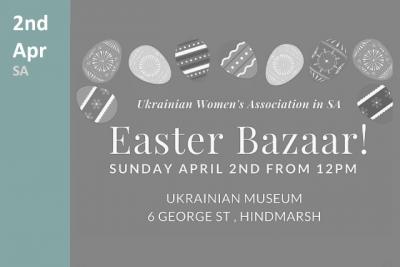 Easter Bazaar in South Australia