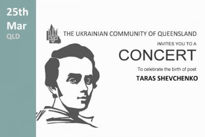 Taras Shevchenko concert QLD