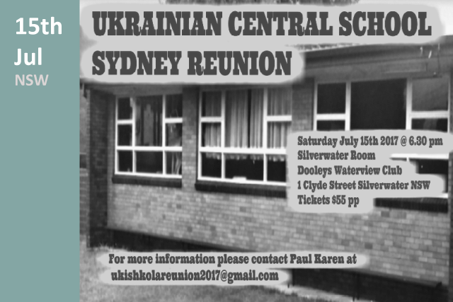 Ukrainian Central School reunion