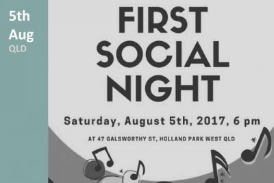 First Social Night - QLD 2017