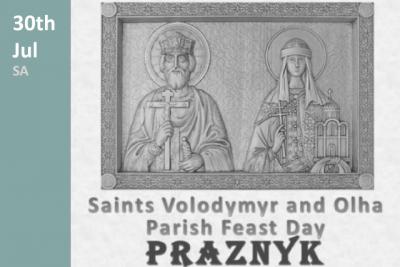 Sts Volodymyr and Olha Parish Feast Day 2017