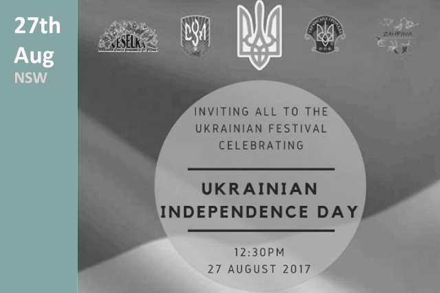 Ukrainian Independence Day in NSW 2017