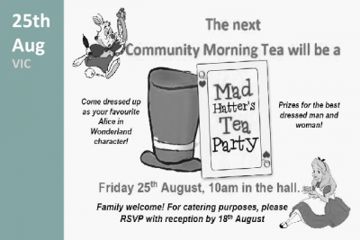 Mad Hatters Tea Party at Kalyna Aged Care