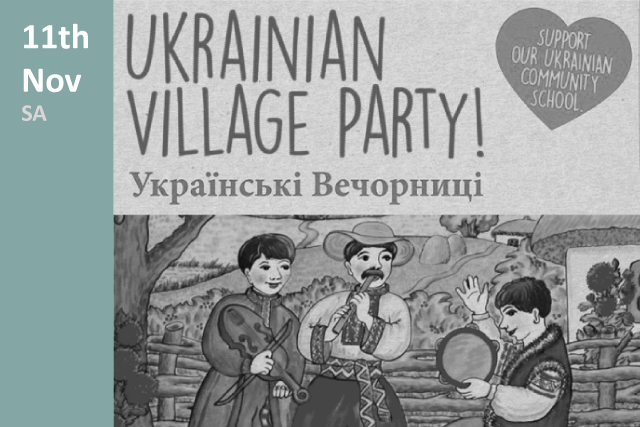 Ukrainian Village party in South Australia