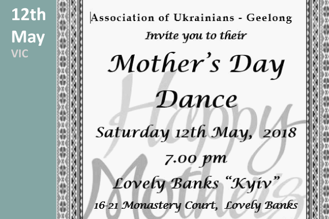 Mothers Day Dance 2018