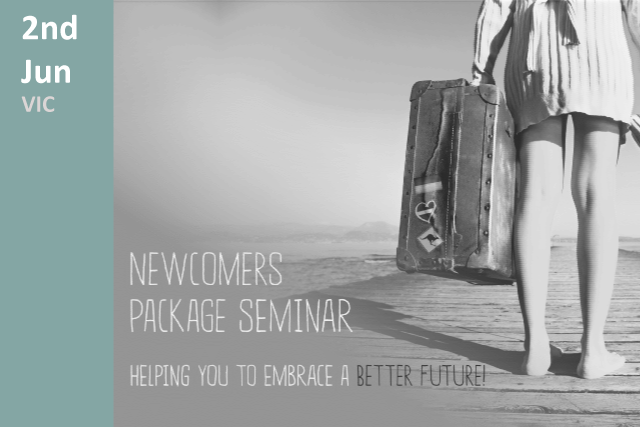 Newcomers Seminar 2018
