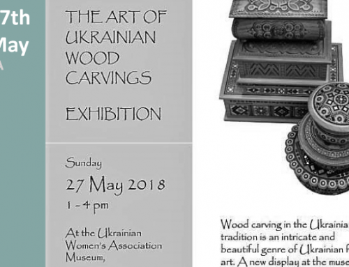 The Art Of Ukrainian Wood Carvings Exhibition